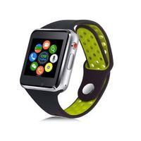 reloj de pulsera al por mayor-2018 nuevo reloj inteligente M3 con pantalla táctil LCD de 1.54 pulgadas para Android reloj inteligente teléfono inteligente inteligente SIM con paquete comercial