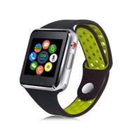 téléphones mobiles montre-bracelet achat en gros de-2019 Nouvelle montre-bracelet M3 intelligente avec écran tactile LCD de 1,54 pouce pour Android Smart Watch téléphone mobile intelligent avec boîtier de vente au détail