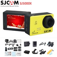 Wholesale 24fps camera for sale - Group buy SJCAM SJ5000X Elite K fps K fps WiFi quot LCD Gyro Diving m Waterproof Bicycle Helmet Mini Outdoor Sport Action Camera