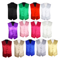 Wholesale mens vest wholesale - Mens Wedding Waistcoat Groom Slim Fit Mens Suit Vest Male Gilet Sleeveless Formal Business Jacket