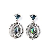 Wholesale irregular pattern - Retro Irregular Pattern Lady Earrings Long Paragraph Wild Cool Popular High-end Jewelry Earrings New