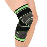 скобы нейлоновые оптовых-Mumian 3d Pressurized Fitness Running Cycling Bandage Knee Support Braces Elastic Nylon Sports Compression Pad Sleeve Ship Today