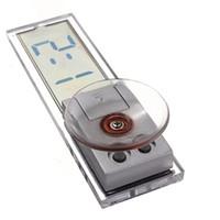 aufkleber armaturenbrett großhandel-Neue Beste Förderung Saugnapf Aufkleber Auto Armaturenbrett Windschutzscheibe Digital LCD Display Mini Uhr