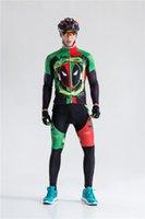 одежда из флисовой зимы оптовых-2019 зима тепловой флис велоспорт одежда Ciclismo с длинным рукавом Pro велоспорт Джерси велосипед нагрудник длинные брюки устанавливает зима велоспорт одежда