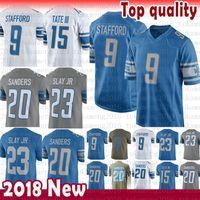 9c0114269 Wholesale barry sanders jerseys online - Mens Matthew Stafford Detroit  Lions Barry Sanders Jersey Golden Tate