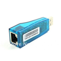 Wholesale rj45 card resale online - Dropship New USB to RJ45 Card Lan Ethernet Network Adapter