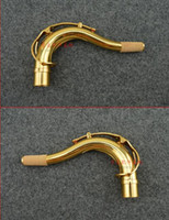 mantar yağı toptan satış-Saksafon aksesuarları tenor saksafon kavisli boyun tüp boyun ağız tüp Bb tenor saksafon