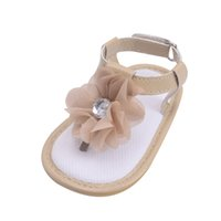 детская обувь для продажи оптовых-Baby boy girls crib shoes newborn  shoes Summer canvas anti-slip Prewalker Hook & Loop infant Blue soft sole 2018 Sale