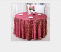 Wholesale white polyester tablecloths round - Table Cloth Table Cover Round For Banquet Wedding Party Decoration Hotel Tables Fabric Table Wedding TableCloth Home Textile