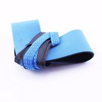 ingrosso anti anello statico-Cinturino alla caviglia blu nero con nastro antistatico di messa a terra con conduttore esterno di tipo a resistenza esterna con anello antistatico