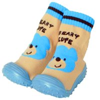 Wholesale wholesale shoe soles for babies for sale - Cotton Baby Shoes Socks For Newborn Anti Slip Baby Socks with Rubber Soles Toddler Indoor Floor WS926YDLL