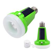 ampoules solaires d'intérieur achat en gros de-Best2011 12W / 18W Lampe de secours rechargeable de secours alimentée à l'énergie solaire portative de lampe de poche de LED pour extérieur multifonctionnel d'intérieur