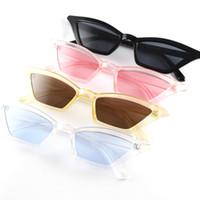 ingrosso occhiali da sole gatto nero occhiali da sole europa-Europe Fashion Occhiali da sole Cat Eye Occhiali da sole Chic per donne Occhiali da sole Occhiale Occhiali da sole Classic Cateye Montatura Black Red Tint Occhiali da sole