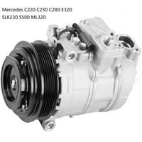компрессоры mercedes оптовых-AC компрессора для Mercedes С220 С230 C280 Е320 SLK230 S500 и ML320 0002302011 000230201160 000230201180 000230201188 5117679AA 0002303911