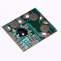 ingrosso riproduzione del registratore vocale-Spedizione gratuita! 3 pz / lotto Micro Digital Voice Recorder Module IC 6S Riproduzione Audio Registra Chip Board fai da te Registrazione 3-4.5 V Per Biglietti di Auguri