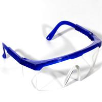 ce349464ea 24 unids / lote PC Gafas Gafas de trabajo Protección de los ojos a prueba  de polvo Sprayproof a prueba de viento Anti Splash Gafas de seguridad envío  gratis