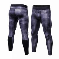 Wholesale army leggings - Leggings New Tights Compression Pants Jogger Pantalones Hombre SportTrousers Wicking Sportswear Pants Men Plus Size S-3XL