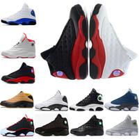 boas sapatilhas de basquete venda por atacado-Bom 13s Phantom raça Azul Royal oliveira Trigo GS branco puro Chicago capitão homens tênis de basquete, esportes Sapatos Sneaker chaussure desconto