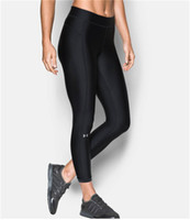 UA Femmes Leggings Pantalon de yoga GYM Sports Collants de sport Pantalons  de jogging de course Leggings à séchage rapide Sportswear Pantalons  d exercice ... fd37a21e6e8