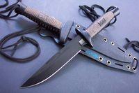ingrosso miglior attrezzo edc-Vendita calda Clasic SOG D25 coltello da caccia Drop Point Lama Fissa Lama Esterna Tattica di Sopravvivenza Coltello All'aperto gear Migliore regalo