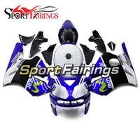 motosiklet için abs kit toptan satış-Yeni Varış Mavi Beyaz ZX-12R 2003 2005 2004 2006 Motosiklet ZX12R 2002 Için Komple Fairings - 2006 ZX-10R 02-06 Gövde Kiti ABS Kaporta Kiti