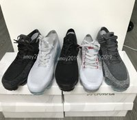 Wholesale womens black canvas - Vapormax 2018 Rainbow Be True Black White Men Running Shoes Fashion Casual Vapor Chaussures Mens Womens Trainers Sports Sneakers Size 36-45
