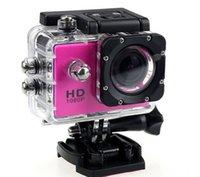 caméra vidéo résistant à l'eau hd achat en gros de-SJ4000 1080 P Casque Sport DVR DV Vidéo Cam Voiture Full HD DV Action Étanche Sous-Marine 30 M Caméra Caméscope Multicolore