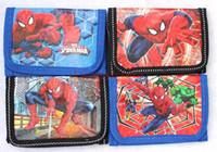 Wholesale Pcs Images - Wholesale and retail new lot 12 pcs Classic cartoon image Spider-Man cartoon children wallet purses gift bags