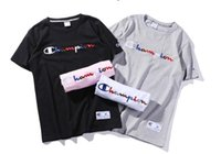 Wholesale Graphic Crew Necks - Fashion t shirts for men women t-shirt gold VOGUE letter women cotton Short Sleeve Crew Neck graphic tees Casual Womens embroidery tops