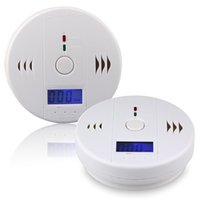Wholesale surveillance for home - CO Carbon Monoxide Gas Sensor Monitor Alarm Poisining Detector Tester For Home Security Surveillance Hight Quality OTH781
