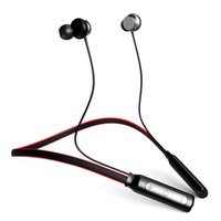 sony mobile headphones UK - ANC BH1 Bluetooth Headphones Wireless Lightweight Neckband IPX5 Waterproof with Mic Earphone for Smart Mobile Cellphone