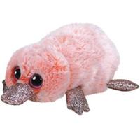 """maw mais venda por atacado-Pyoopeo Ty Beanie Boos 6 """"15 cm Wilma Rosa Platypus Plush Regular Macio Big-eyed Stuffed Animal Coleção Boneca de Brinquedo com o Coração Tag"""