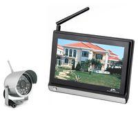Wholesale Children Range - Hot Wireless Remote Control 7 inch Baby Monitor Night Vision Video Babysitting Child Safety Camera System