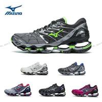 Wholesale nova fabrics - 2018 New Color MIZUNO WAVE PROPHECY 7 NOVA Professional Running Shoes for Men women Sneakers Breathable Mens Sports Designer Trainers Shoes