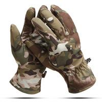 многоцветные пальцы теплые перчатки оптовых-M L XL зимние спорта на открытом воздухе утолщение перчатки Multi цвета велоспорт катание на лыжах пешие прогулки охота теплый палец ПЕРЧАТКИ Тактические ветрозащитный мужчины перчатки