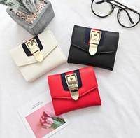 Wholesale Interior Metal Panels - Women's wallet. Square. PU. Women's billfold. Zero purse. Small. Monochromatic. Wallets. Card bag. Mini. Metal. Clutch bag. Short.