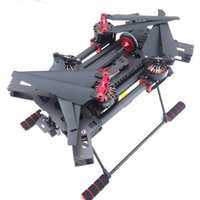 gps plegable al por mayor-H450 Marco de Quadcopter plegable FPV de fibra de carbono con motor Sunnysky X3508S 700KV / 30A ESC / Naza lite + GPS / Radiolink AT9 / Propeller