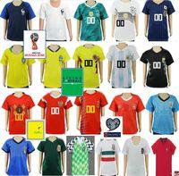 Wholesale uruguay soccer - Kids Soccer Jersey Colombia Mexico Argentina Belgium Spain Japan Germany Russia Uruguay Sweden Switzerland Custom Youth Child Football Shirt