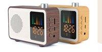 ingrosso altoparlante di allarme bluetooth-Altoparlante Bluetooth portatile con funzione radio FM La visualizzazione del tempo della sveglia