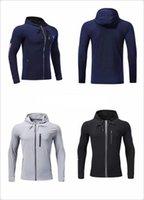 Wholesale men s large jackets - 2018 new autumn winter Large size MEN'S HOODIE SPORTSWEAR TECH FLEECE WINDRUNNER fashion leisure sports underes jacket Outdoor Jackets
