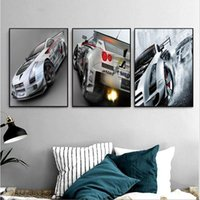 Wholesale Painting Interior Room - 3 paintings Nordic home decoration Home Furnishing decoration Layout room Interior fashion murals