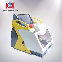 cortadores de máquina duplicadora al por mayor-Kukai 2019 Nueva Máquina de Copia de Llave de Coche Máquina de Corte de Llave de Coche SEC-E9 Envío Gratis Mejora Herramientas de Cerrajería Cortador de Llave