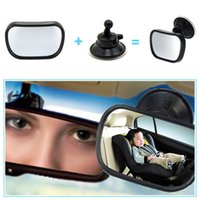 Wholesale rear view mirror baby car seats for sale - Group buy 2 in Mini Safety Car Back Seat Baby View Mirror Adjustable Baby Rear Convex Mirror Car Baby Kids Monitor