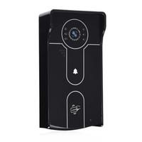 ip ir remoto venda por atacado-Diske sem fio Wi-Fi IP Porta Video Phone Com 720P Camera Remote App desbloqueio Night Vision IR Cam para Android