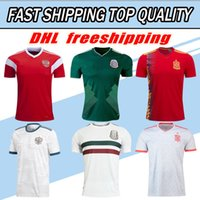 Wholesale jersey wholesale thailand - DHL free shipping Thailand High Quality 2018 World Cup National Team Jersey Mexico Russia Spain Jersey Football Jersey