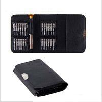 comprimidos abertos venda por atacado-25 Em 1 Reparação de Tela de Abertura Conjunto de Ferramentas Chave De Fenda Portátil Terno Celular Tablet PC Mão Conjuntos de Ferramentas Durável 9 8 s YB