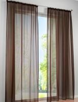 ingrosso filato verde blu-2PCS Concise tedesco alta densità Terylene Yarn Window Curtain Pannelli trasparenti di buona qualità