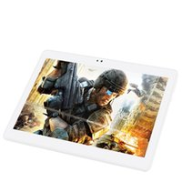 tablette 2gb 16gb großhandel-Freies Verschiffen BMXC 10,1 Zoll Android 7.0 Viererkabel-Kern 3G Smartphone Tablette-PC 16GB HD IPS WIFI bluetooth GPS