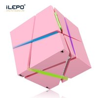 Wholesale Music Cube Speaker - New Qone Mini Cube Speakers 3D Stereo Sound Portable Bluetooth Speaker Wireless Music Box Support TF Card With Retail Box Better Charge 3