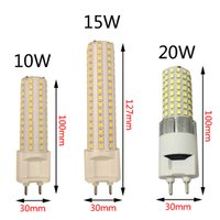 Wholesale Cool Track Lighting - High bright SMD2835 G12 LED bulbs 10W 15W 20W led corn bulb light replacing for tracking lamp G12 bulbs warm natural cool white AC85-265V